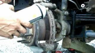getlinkyoutube.com-How to replace F-250 Brake Pads