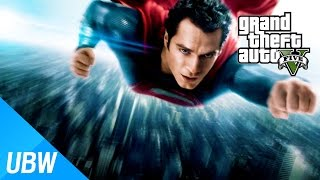 getlinkyoutube.com-울산큰고래' GTA 5 슈퍼맨 모드 - 로스 산토스를 침략하러 온 슈퍼 히어로?! (GTA5 모드탐방)