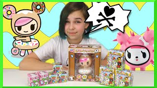 getlinkyoutube.com-Tokidoki Surprise Blind Box Unboxing Mania - Donutella, Unicornos and Frenzies Opening