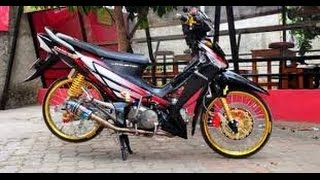 getlinkyoutube.com-Modifikasi Motor Supra X 125 cc Simpel | Bahan Modifikasi