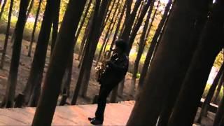 Music Malaysia - Wong Fei Hung Theme on Saxophone in Shanghai, China