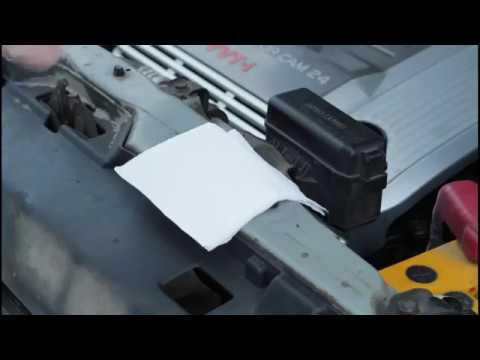 Расположение щупа масла в двигателе у Лексус ES300