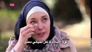 getlinkyoutube.com-امراة اجنبية اسلمت بكت وابكت المذيع لماذا....؟