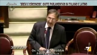 """getlinkyoutube.com-""""Brevi e circoncisi"""", gaffe parlamentari in italiano e latino"""