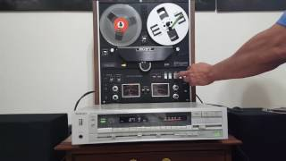 getlinkyoutube.com-Sony TC-580 Reel To Reel Tape Player - Demo