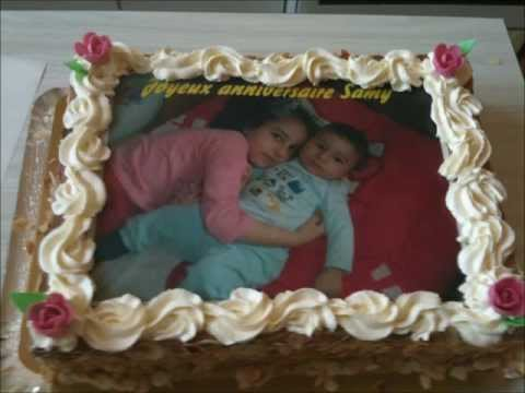 gateaux d'anniversaire personnalisés, patisserie orientale, photo sur gateaux
