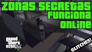 getlinkyoutube.com-GTA V ONLINE Zonas Secretas para Trollear | Wallbreach | Invencible | Recopilación Sitios Ocultos