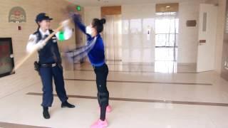 日本の警察官の警杖術
