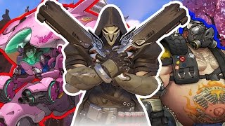 Overwatch   First time playing on my channel!