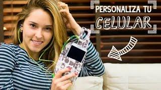 getlinkyoutube.com-Personaliza tu celular y sus accesorios ♥ | Kika Nieto