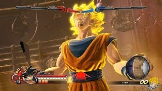 J-Stars Victory Vs : All Character Transformations【1080P】
