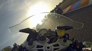 getlinkyoutube.com-Stefan Nebel mit der BMW R1200RS auf dem Circuito de Almeria