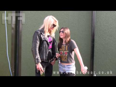 Reckless Love Interview - Download Festival 2012