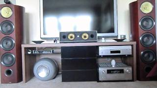 getlinkyoutube.com-Home Theater B&W 803 Diamond mit Denon and Philips Equipment