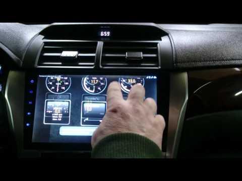 Температура АКПП Toyota Camry v50