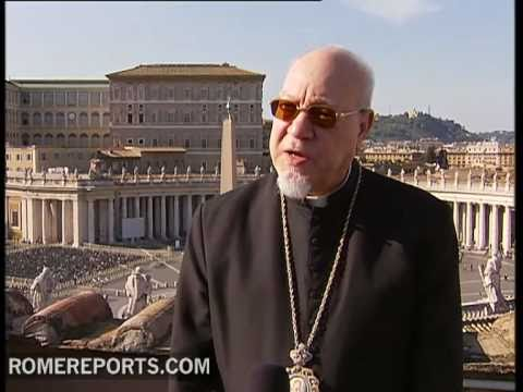 Egytian cardinal Naguib works to relaunch dialogue with muslims