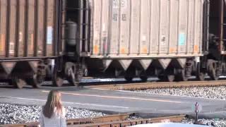 getlinkyoutube.com-Coal Train Rider's Busted!