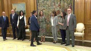 Audiencia a una representación de la Alianza Iberoamericana de Enfermedades Raras o Poco Frecuentes (ALIBER)