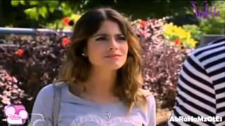 getlinkyoutube.com-Violetta 2- Vilu discute con Leon y se tropieza