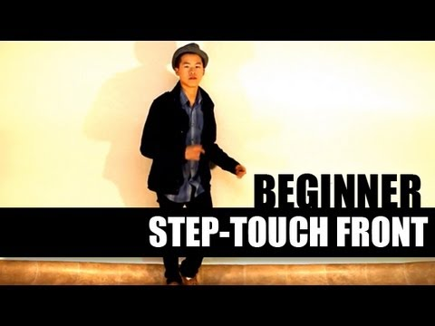 How to Dance In the Club - For Men | Beginner Step-Touch Front