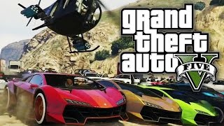 GTA 5 Online - US AGAINST AN ARMY! (GTA V Online)