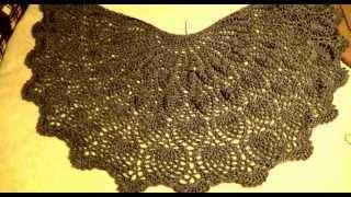 getlinkyoutube.com-#487 США Аляска Анкоридж Кошки - Ужин - Двор Схема вязания шали