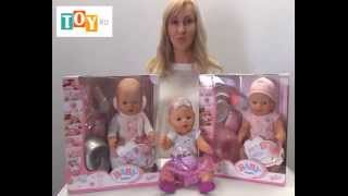 getlinkyoutube.com-Кукла - Бэби Борн (Baby born) Интерактивная