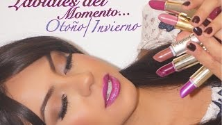getlinkyoutube.com-Labiales del Momento Otoño/Invierno -Guay NGTips (Nena Guzman) con BEAUTYBYNENA