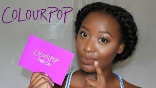 getlinkyoutube.com-ColourPop Ultra Matte Liquid Lipstick Haul & Swatches on Dark skin