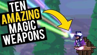 getlinkyoutube.com-Top 10 Magic Weapons in Terraria