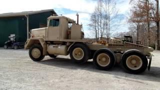 getlinkyoutube.com-1980 M920 semi tractor C&C Equipment 812-336-2894 ccsurplus.com