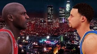getlinkyoutube.com-WHEN MICHAEL JORDAN MET STEPHEN CURRY FT. DRAKE | NBA 2K16 | GTA V | SKIT |