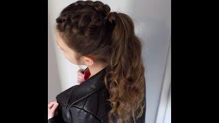 Fryzury Pazury - Młodzieżowa łatwa fryzurka