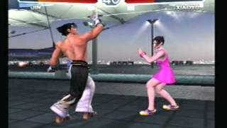 getlinkyoutube.com-Tekken 4 Hacking Session- Episode 1 * Jin Xiaoyu *