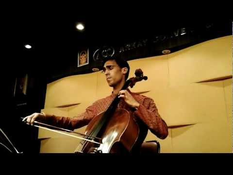 Carnatic music on Cello (Raghuvamsa)