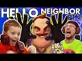 WE SCARED OUR BLIND NEIGHBOR!?  FGTEEV Scary Hello Neighbor Kids Horror Game Part 2 Alpha 2 Update