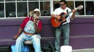 "getlinkyoutube.com-Grandpa Elliot & Oscar Castro - ""Only You"" -  New Orleans Street Music"