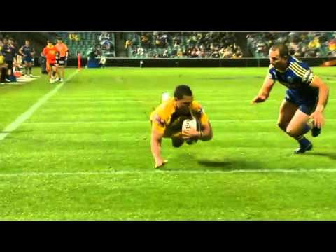 NRL 2012 Round 1 Highlights: Eels V Broncos