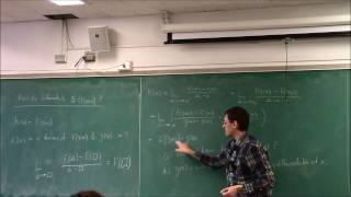Calculus I (lecture 13): The Chain Rule