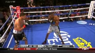 Austin Trout vs Luis Grajeda  Full Fight