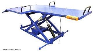 getlinkyoutube.com-Ideal 2200IEH UTV ATV Trike Motorcycle Lift Table
