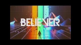 BELIEVER - IMAGINE DRAGONS  karaoke version ( no vocal ) lyric instrumental