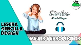getlinkyoutube.com-Mejor reproductor de musica Material Design Timber Music Player | Ourandroid full