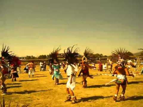 teotihuacan,Danza azteca (Antigua)