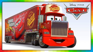 getlinkyoutube.com-MACK truck cars disney - from the cars movie and game, Friend of Lightning McQueen and Mater