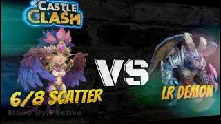 getlinkyoutube.com-castle clash: How to beat EVERY LR Demon | 5/5 Talent Box | New Harpy Queen!!