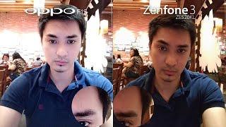 Oppo F1s vs Asus Zenfone 3 Review + Camera Comparison