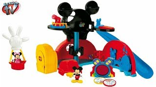 getlinkyoutube.com-MICKEY MOUSE CLUBHOUSE Playset Disney Junior Toys Unboxing Video by Toy Review TV