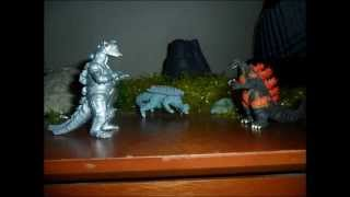 getlinkyoutube.com-Godzilla Rezurrection | Stop Motion Animation