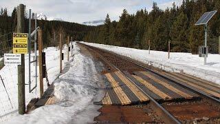 getlinkyoutube.com-Layout Update - January 2017: CP sub-roadbed complete, Lake Louise bear gates & accurate grades...